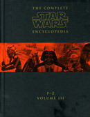 Star Wars The Complete Encyclopedia Volume 3 (P-Z)