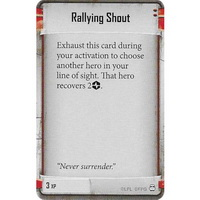 Rallying Shout (Gideon Argus)