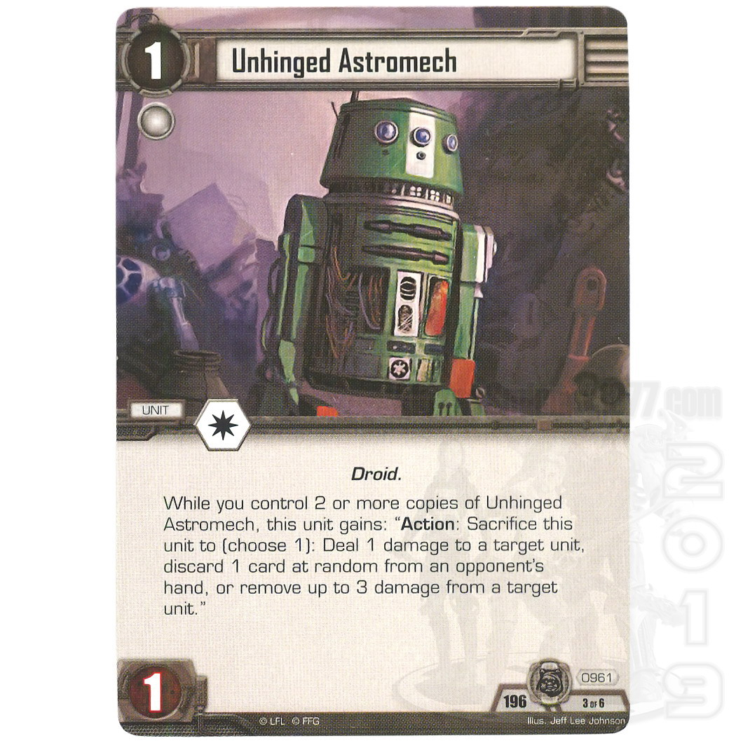 MY COLLECTION | UNIT PAGE - R5-series Astromech Droid