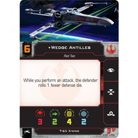 Wedge Antilles, Red Two | T-65 X-Wing (Unique)