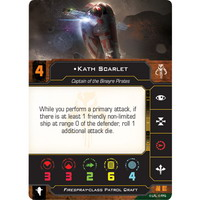 Kath Scarlet, Captain of Binayre Pirates | Firespray-class Patrol Craft (Unique)