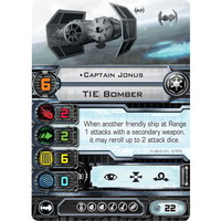 Captain Jonus | TIE Bomber (Unique)