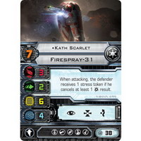 Kath Scarlet | Firespray-31 (Unique)