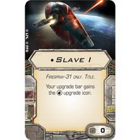 TITLE | Slave I : Firespray-31 only (Unique)