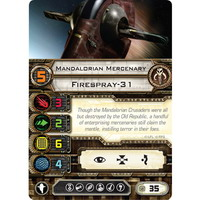 Mandalorian Mercenary | Firespray-31