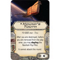 TITLE | Hound's Tooth : YV-666 only (Unique)