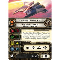 Concord Dawn Ace | Protectorate Starfighter