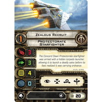 Zealous Recruit | Protectorate Starfighter