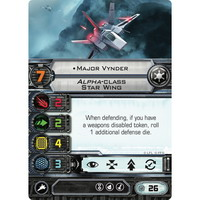 Major Vynder | Alpha-class Star Wing (Unique)