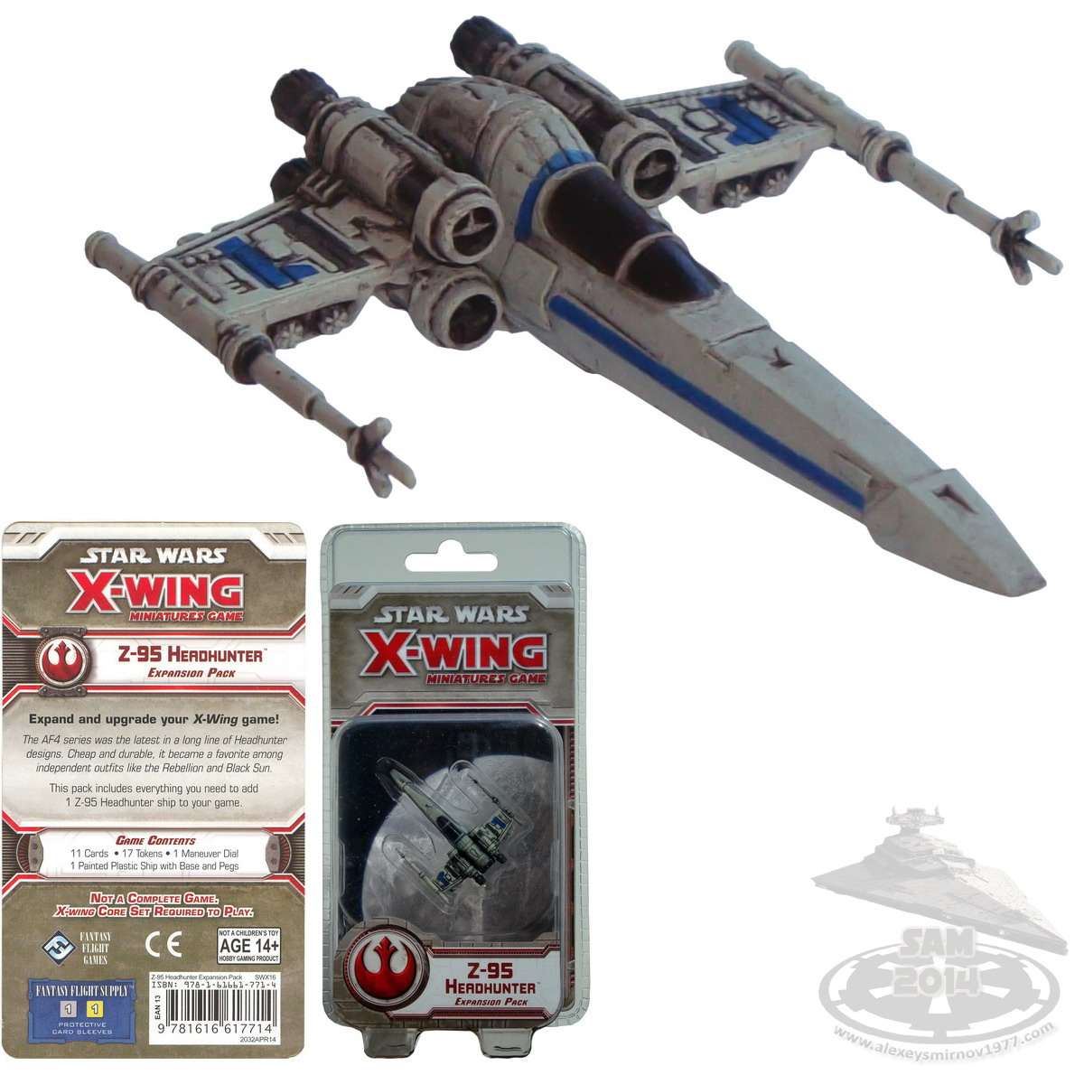 Rebel Z 95 Headhunter: My Collection - FFG X-Wing Miniatures Game
