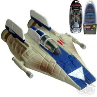 A-Wing Starfighter (blue-white) (TSDC)
