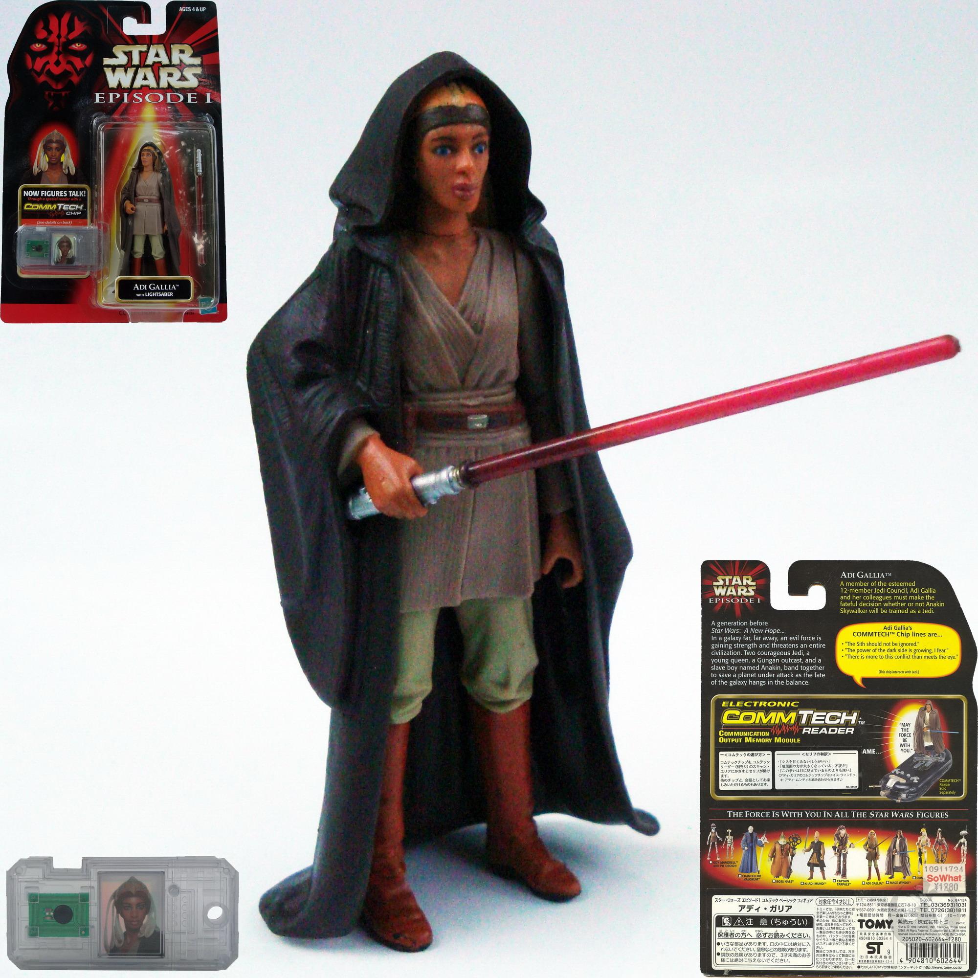 Star Wars Episode I Basic Figure Collection III Adi Gallia Hasbro 84124