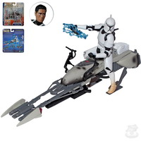 Army of the Republic - Clone Trooper with Speeder Bike (84846)