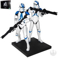 Clone Trooper 501st Legion Two Pack Limited Edition (ArtFX+)