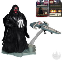 Darth Maul with Sith Infiltrator (84409)