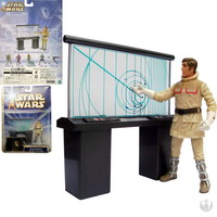 General Rieekan, with Hoth Tactical Screen : Hoth Evacuation (84713)