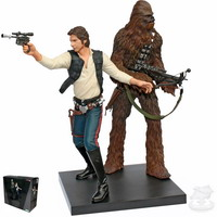 Han Solo & Chewbacca, A New Hope (ArtFX+)
