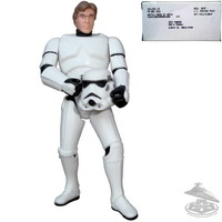Han Solo in Stormtrooper Disguise (KMA)