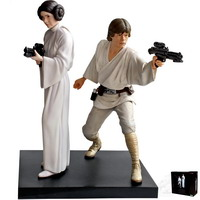 Luke Skywalker & Princess Leia, A New Hope (ArtFX+)