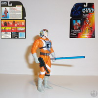 Luke Skywalker, in X-Wing Fighter Pilot Gear (69581)