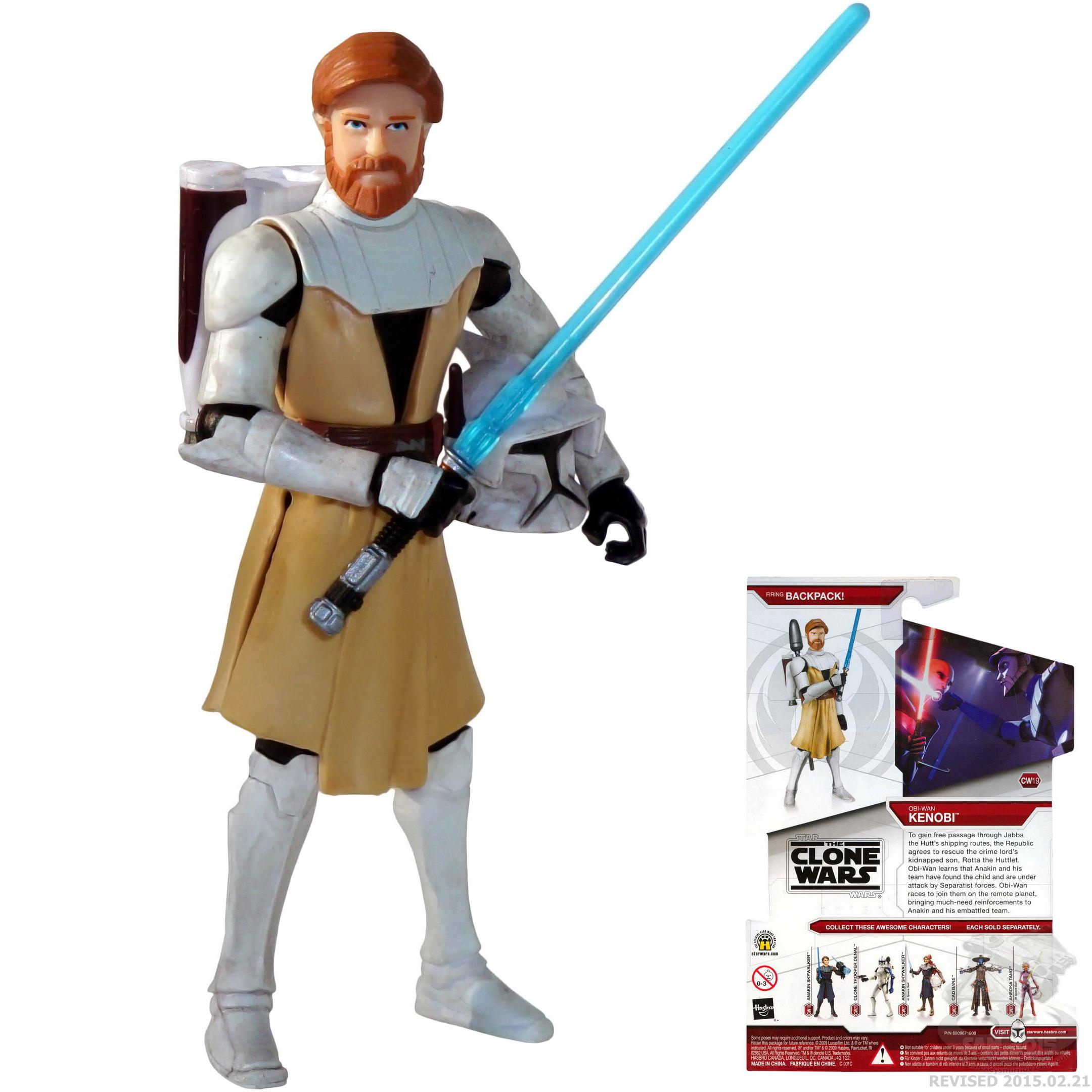 Wan Wars The Clone FigurinesStatues Star Kenobi Action Obi w80OkXPNn