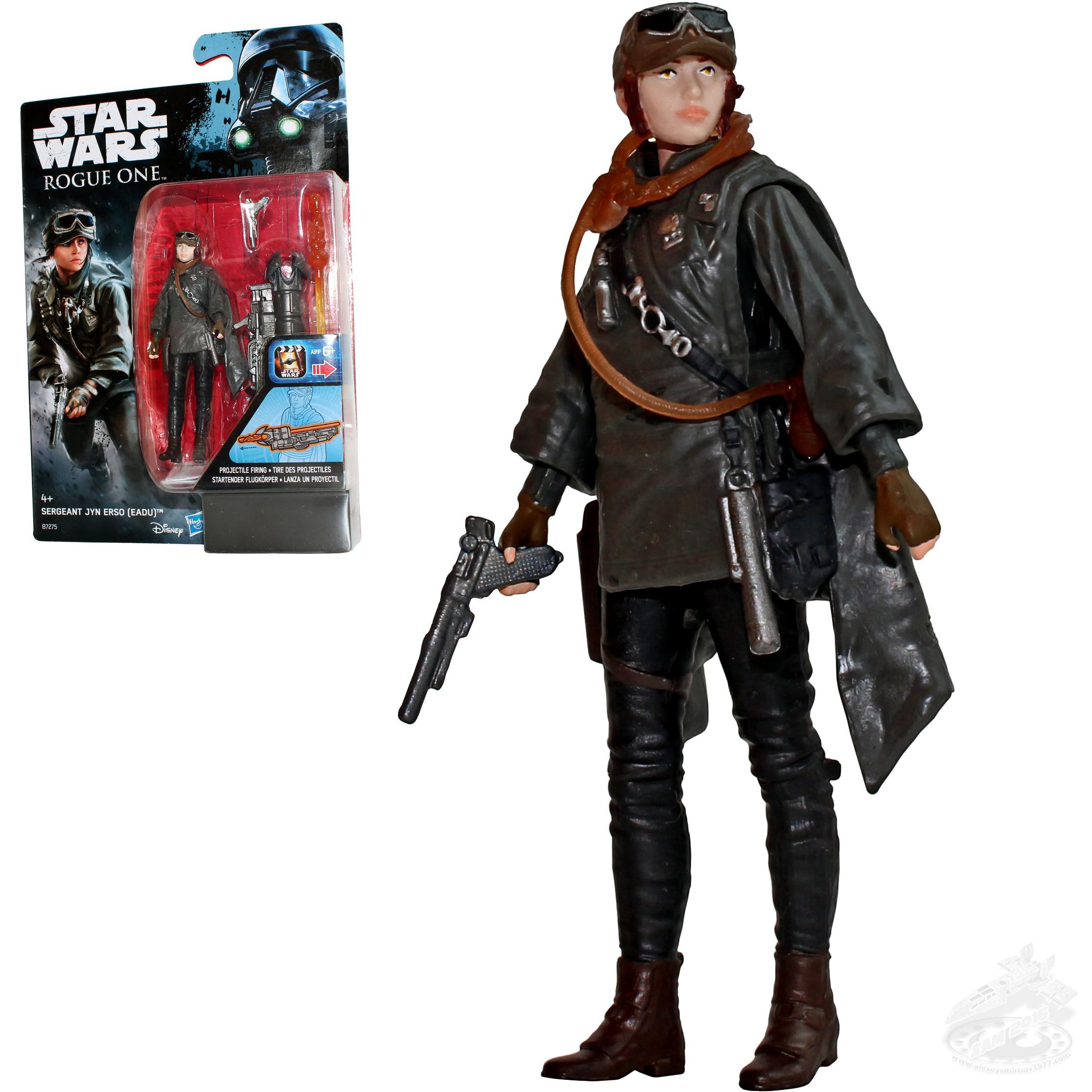 3.75 Inch Action Figure Eadu Star Wars Rogue One Sergeant Jyn Erso