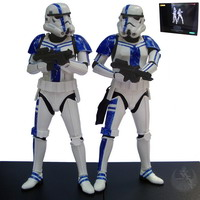 Stormtrooper Commander Two Pack (ArtFX+)