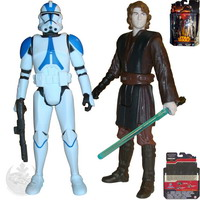 Coruscant : Anakin Skywalker and 501st Legion Trooper (MS02)