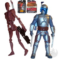 Geonosis : Battle Droid and Jango Fett (MS03)