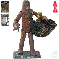 Chewbacca, with Electronic C-3PO (SAGA054)