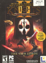 Knights of the Old Republic - The Sith Lords
