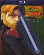 Star Wars The Clone Wars The Complete Season Five (Blu Ray)