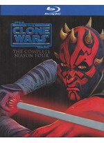 Star Wars The Clone Wars The Complete Season Four (Blu Ray)